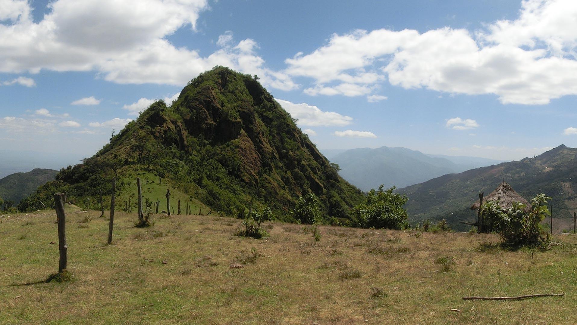 Panoramica Mount Mtelo
